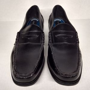 Nunn Bush Comfort Gel Penny Loafers SZ 10 Black